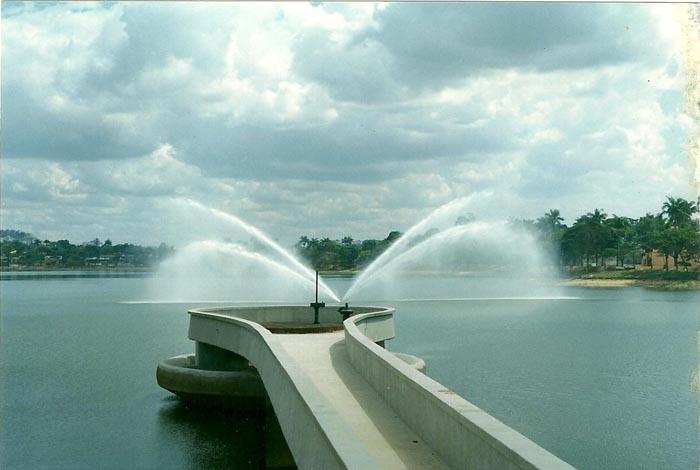 Fonte da Lagoa da Pampulha está funcionando!