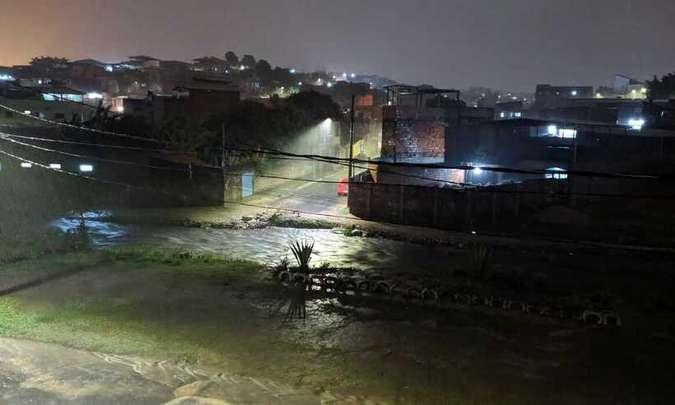 A Chuva e Ventania castiga BH na noite desta quarta-feira