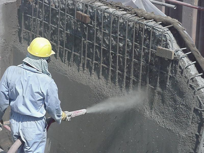 Aonde achar concreto projetado na Pampulha?