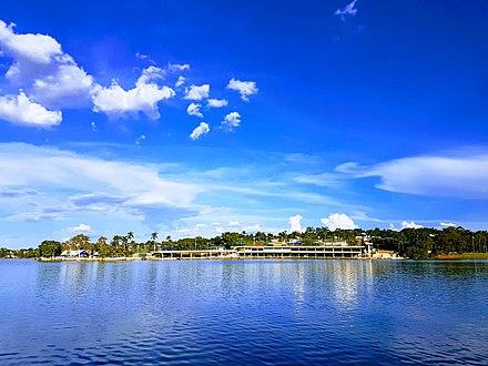 Como é a Hidrografia na Lagoa da Pampulha?