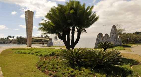 Como é a Vegetação na Lagoa da Pampulha?
